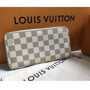 Louis Vuitton Zippy Wallet +Dust Bag + LV Box